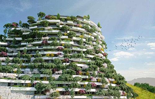 خبر هتلی شبیه جنگل عمودی در چین