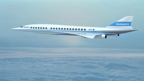 خبر رو نمایی از هواپیمای مسافر بری BOOM با سرعت فرا صوت