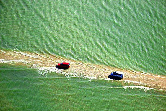 خبر پسیج دو گوا ; جاده میان اقیانوس اطلس که هر روز ناپدید می شود