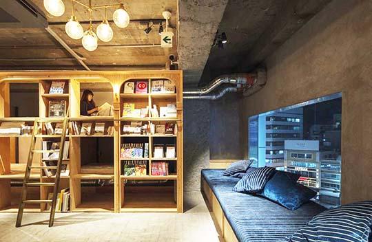 خبر هتل بوک اند بد توکیو ; لذت کتاب خوانی در تخت خواب