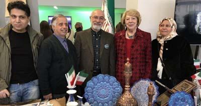 خبر استقبال گسترده از غرفه ایران در بازار خیریه بین المللی دوبلین