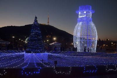 خبر مراسم جالب جشن کریسمس در گرجستان