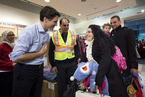 خبر استقبال نخست وزیر کانادا از مسافرین ایرانی