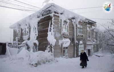خبر سردترین شهر در کره زمین