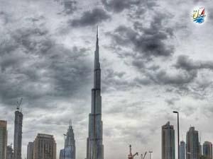 خبر دمای هوای ۱۲ درجه سانتیگراد در دبی , باران در راه است