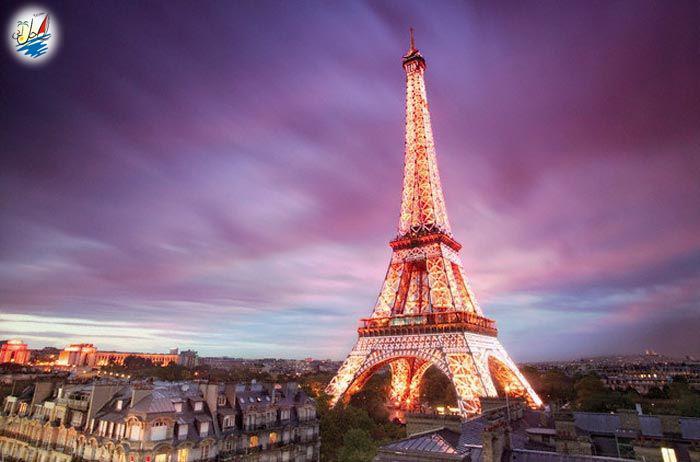 خبر راهنمای سفر به شهر زیبای پاریس