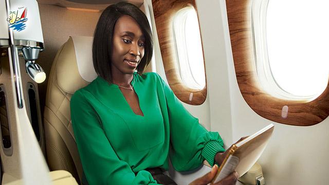 خبر ایرلاین امارات برنده جایزه کلاس بیزینس 2018 در آفریقا