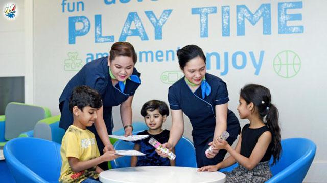 خبر سالن لانج جدید در فرودگاه دبی برای کودکان