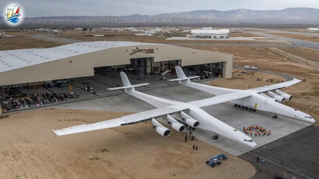 خبر بزرگترین هواپیمای جهان به پرواز در می آید