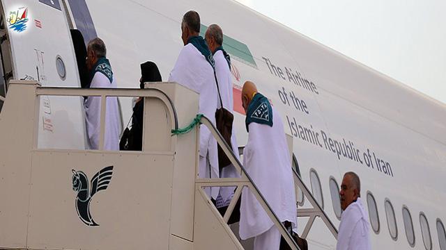 خبر اجرا تمام پرواز های حج به عربستان توسط ایران ایر