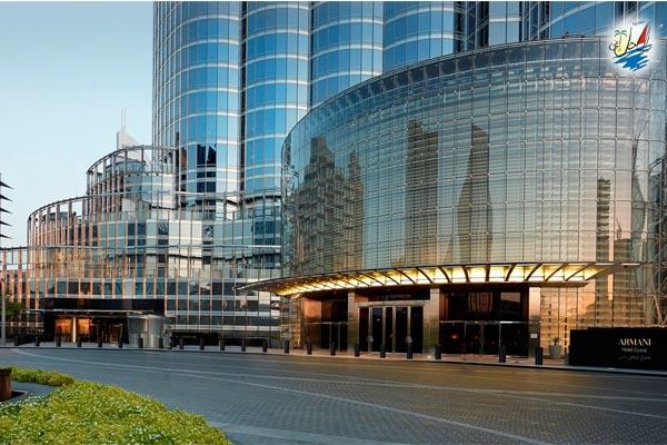 خبر جوایز هتل آرمانی دبی هتل مشهور در برج خلیفه در سال 2018