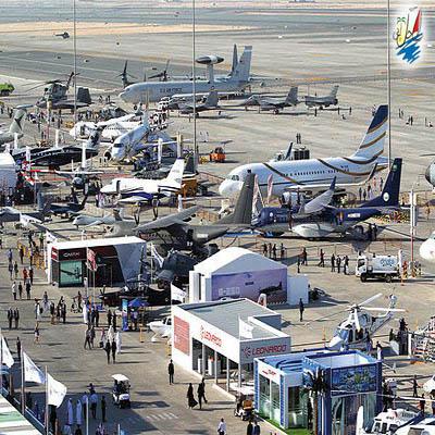 نمایشگاه برگزاری نمایشگاه جدیدترین هواپیماهای تولید شده در دبی