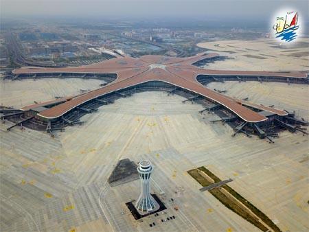 خبر پایان ساخت بزرگترین فرودگاه جهان در پکن