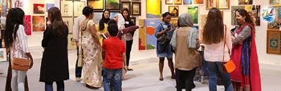 خبر برگزاری نمایشگاه آثار هنری در دبی