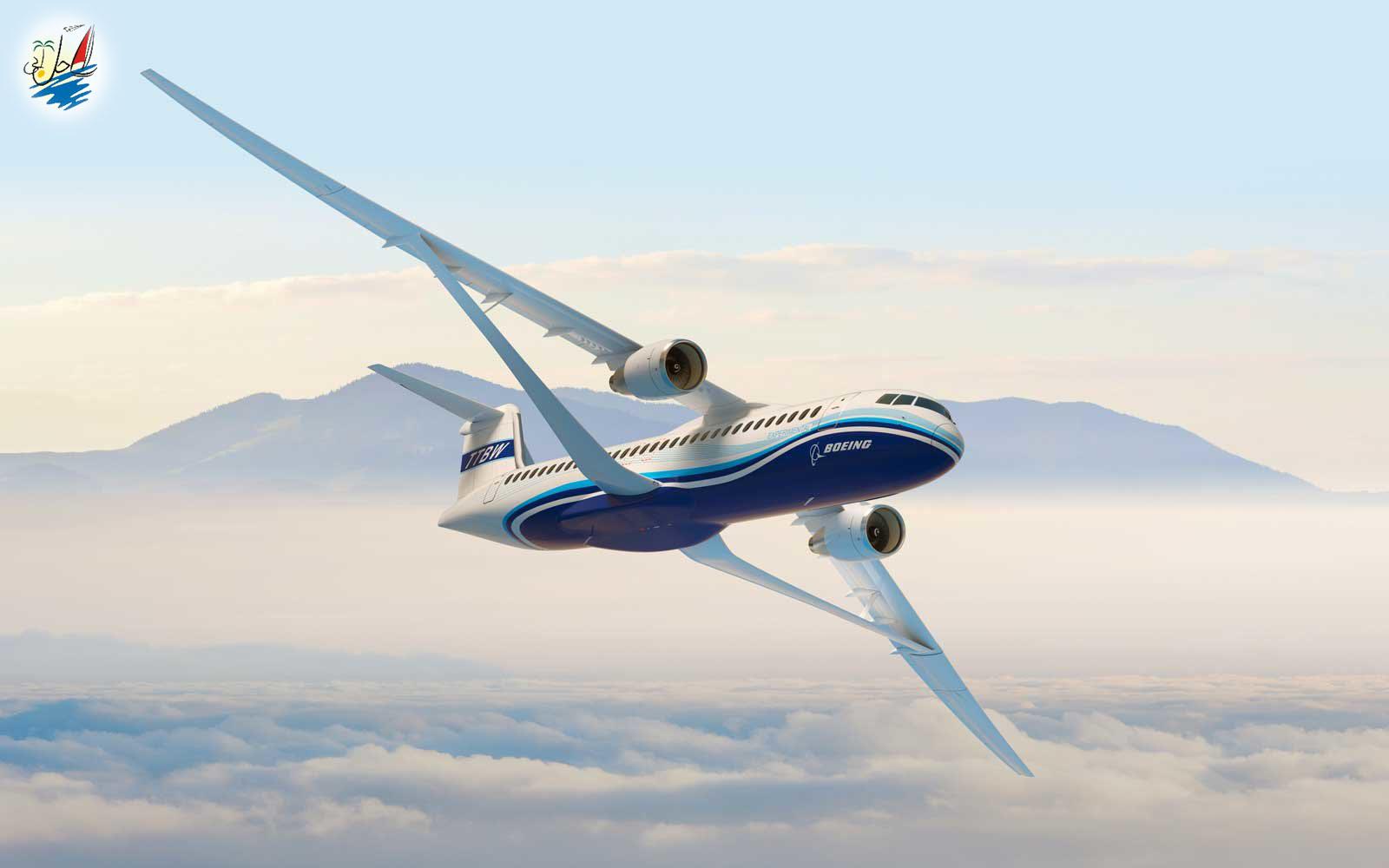 خبر بوئینگ و ناسا در حال کار روی بال های هواپیما برای افزایش سرعت آنها