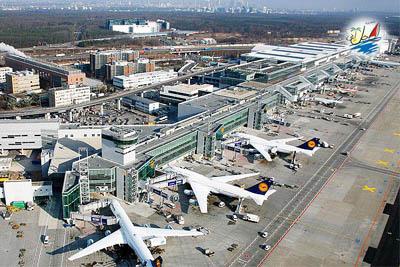 خبر فرودگاه فرانکفورت در سال2019به بیش از 70میلیون نفر خدمات داده است