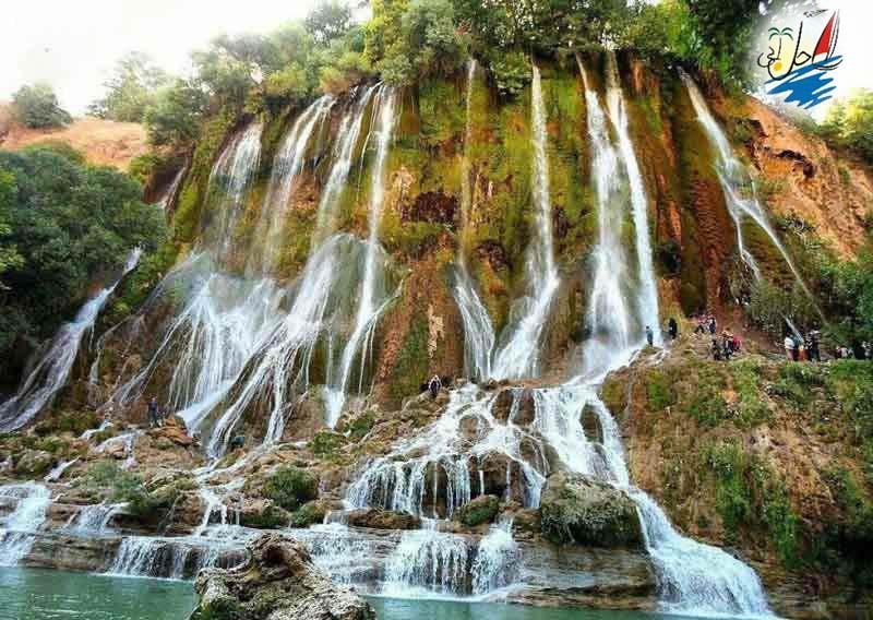 خبر سپید دشت، شهر آبشارهای لرستان