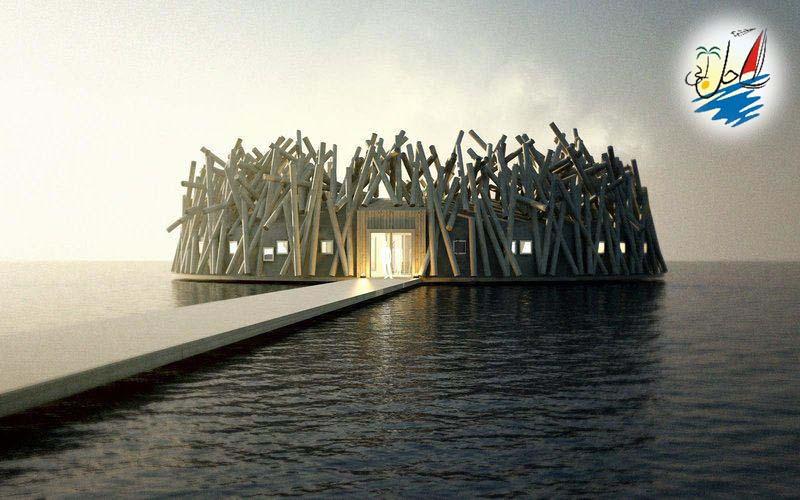 خبر تماشای شفق های قطبی از درون یک هتل سونای شناور