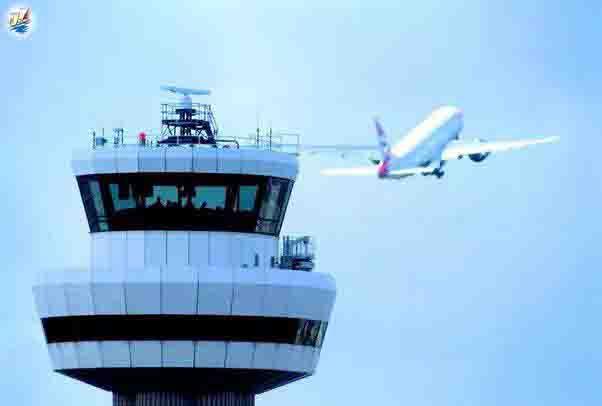 خبر تجهیز برج مراقبت فرودگاههای سنگاپور به هوش مصنوعی.