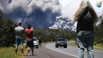 خبر امکان تماشای گدازه ها از نزدیک در هاوایی