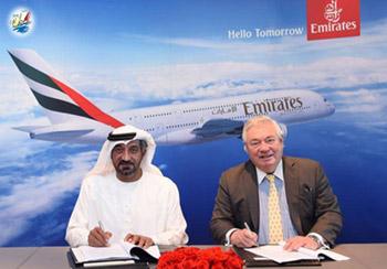 خبر امارات 36 فروند هواپیمای A380 خریداری می کند