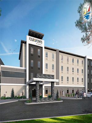 خبر افتتاح هتل فورپوینت بای شرایتون در کانادا