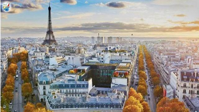 خبر پاریس در صدر لیست شبکه پروازی شهرهای زیبا