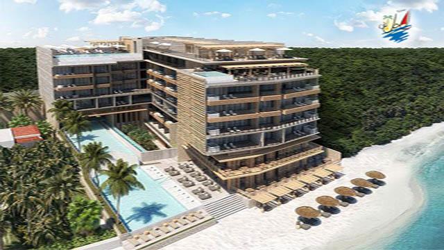 خبر برگزاریی جشن دهمین سالگرد تاسیس هتل فایو در مکزیک