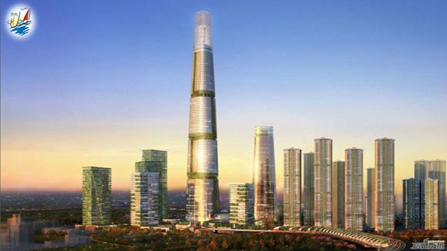 خبر بلندترین ساختمان های جهان