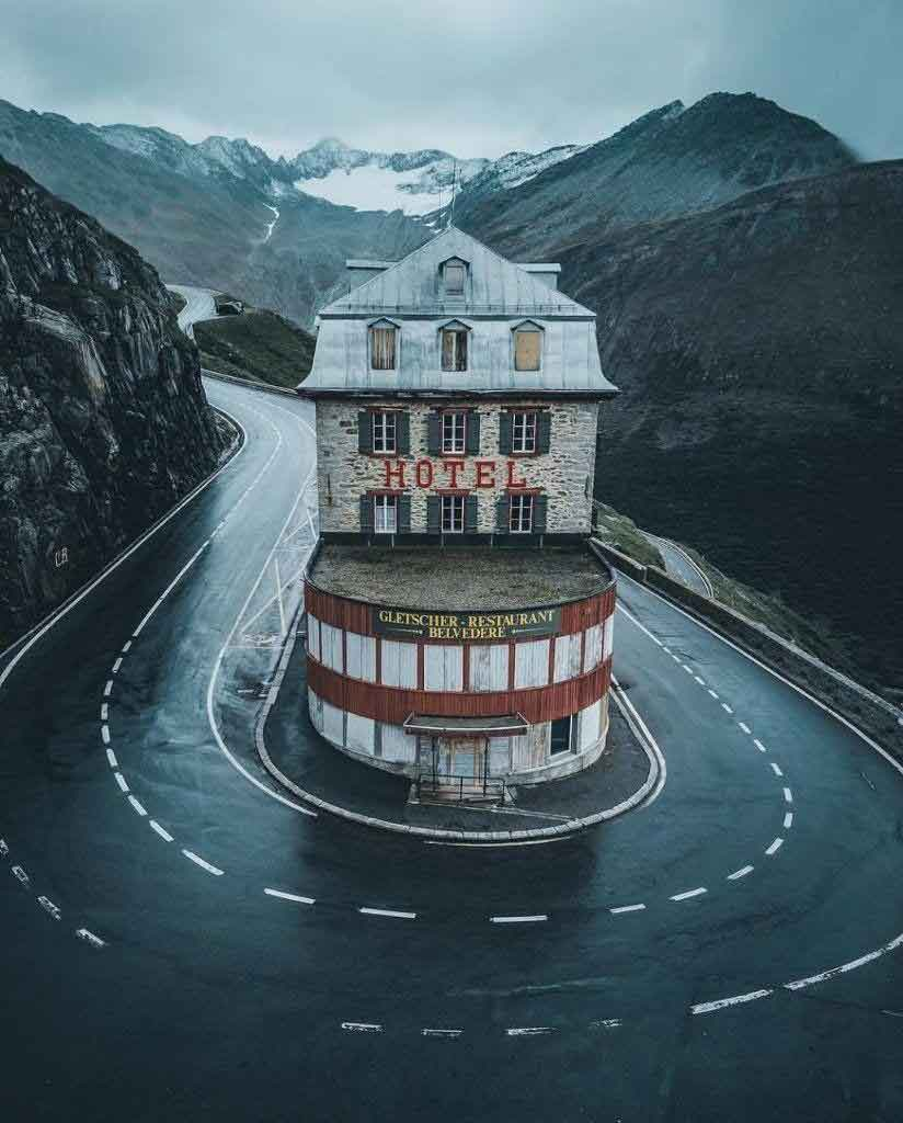 خبر گذرگاه فورکا در کشور سوییس