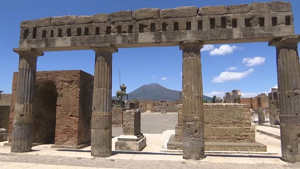 خبر درهای شهر باستانی پمپی در ایتالیا به روی بازدیدکنندگان گشوده شد