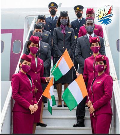 خبر خطوط هوایی قطر با فرود آمدن از آبیدجان ، آغاز خدمات منظم از دوحه است
